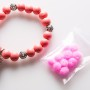 Coral bracelet with aromaballs