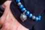 Essential Oil Bracelet Blue Beaded, Izzybell Jewelry (1) (1)