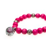 Essential Oil Bracelet Pink Beaded, Izzybell Jewelry (6) (2)