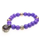 Essential Oil Bracelet Purple Beaded, Izzybell Jewelry (5) (1)