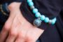 Essential Oil Bracelet Teal Beaded, Izzybell Jewelry (1)