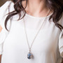 Essential Oil Diffuser Necklace Oval – Izzybell Jewelry