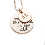 5k, She Believed She Could So She Did - Izzybell Jewelry