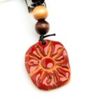 Aromatherapy Essential Oil Diffuser Car Diffuser Red Sun, Izzybell Jewelry