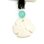 Aromatherapy Essential Oil Car Diffuser Sand Dollar, Izzybell Jewelry