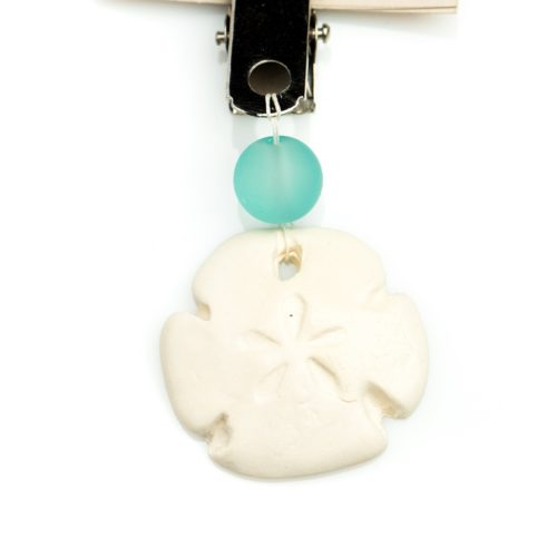 Aromatherapy Essential Oil Car Diffuser Sand Dollar, Izzybell Jewelry (2)