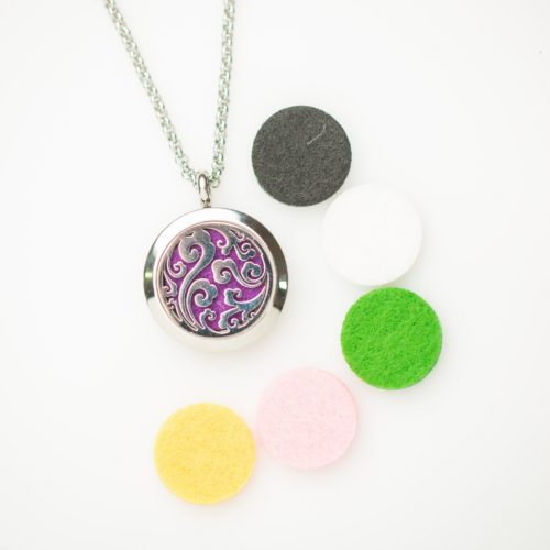 Aromatherapy Essential Oil Necklace, Izzybell Jewelry (1)