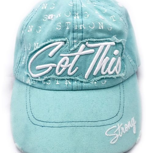 Journey Girl, Got This Hat Teal (2)
